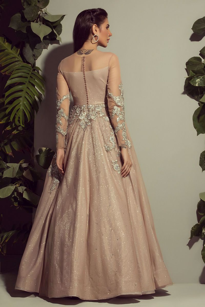 Picture of Long net gown
