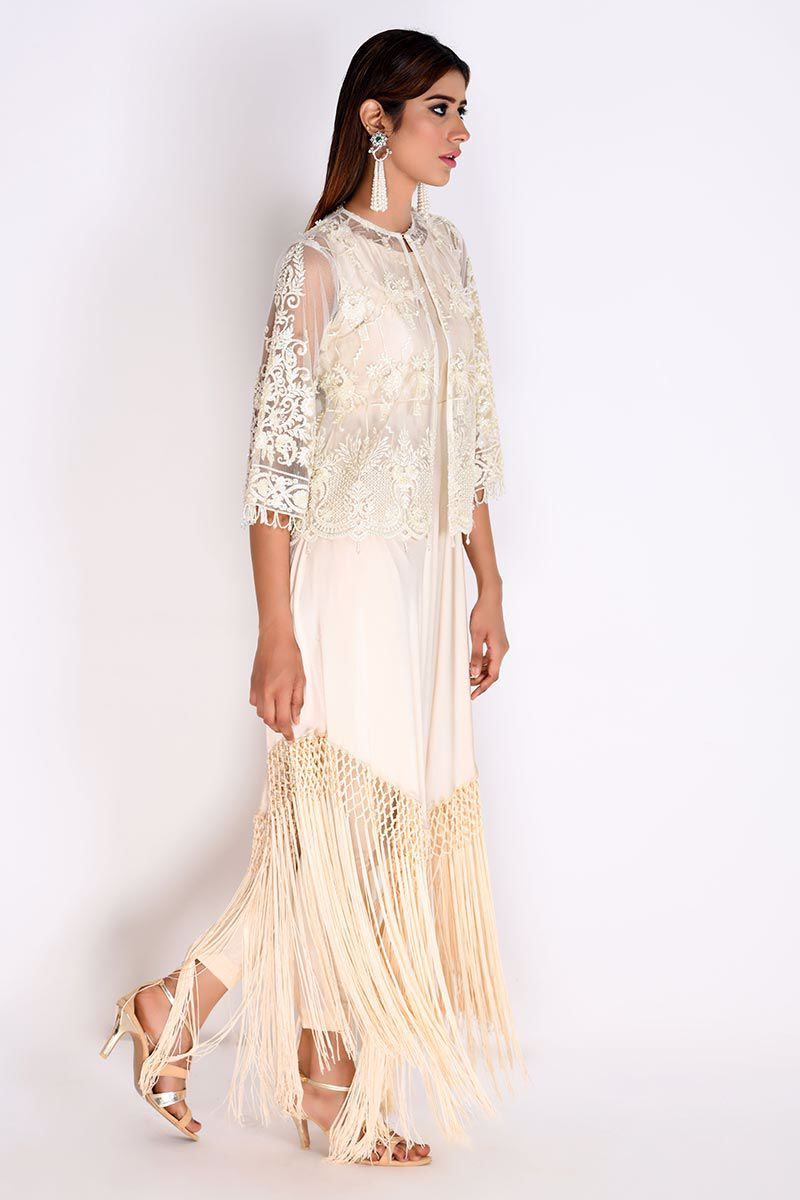 Picture of Ivory Net Jacket